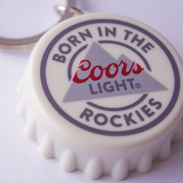 Coors Keyring